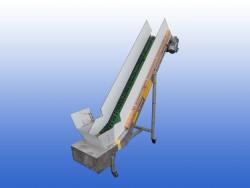 Opvoerband schuin gebruikt 30 cm aluminium