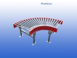 Rollerconveyor curve