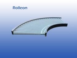 Aangedreven Rollenbaan gebruikt 80 cm
