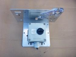Drie Standen schakelaar 1-0-1 met 2x maakcontact