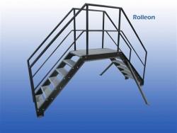 Rollerbaan trap