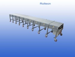 Flexible conveyor used