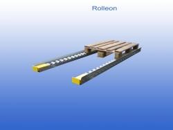 Rollenbaan gebruikt 10cm (links)