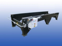 Kettingtransporteur gebruikt 135 cm