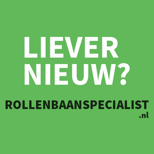 Liever nieuw? Ga naar rollenbaanspecialist.nl